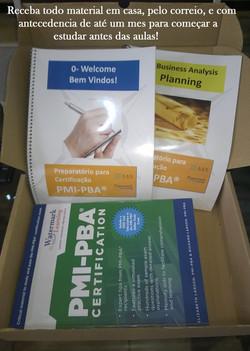 Material PMI-PBA RBN envio correio