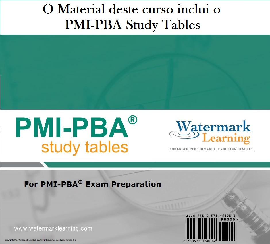 PMI-PBA StudyTables Watermark