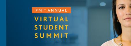 PMI Annual Virtual Student Summit 2018 - Acesso liberado até 30/10/2019