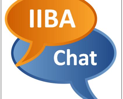 IIBA Certification Chat de Dezembro da Watermark Learning