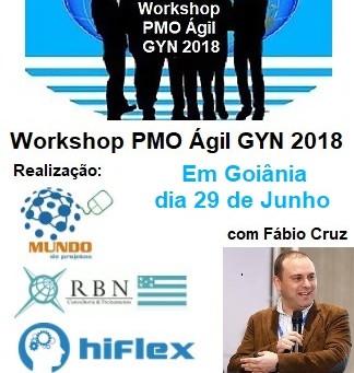 Workshop PMO Ágil em Goiânia está confirmado!