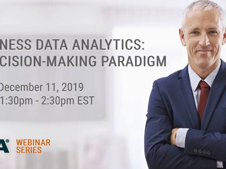 Business Data Analytics: A Decision-Making Paradigm | Webinar Público