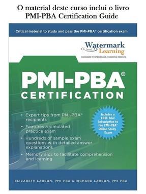 Livro PMI-PBA Watermark/RBN