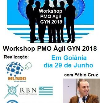 Workshop PMO Ágil em Goiânia 2018