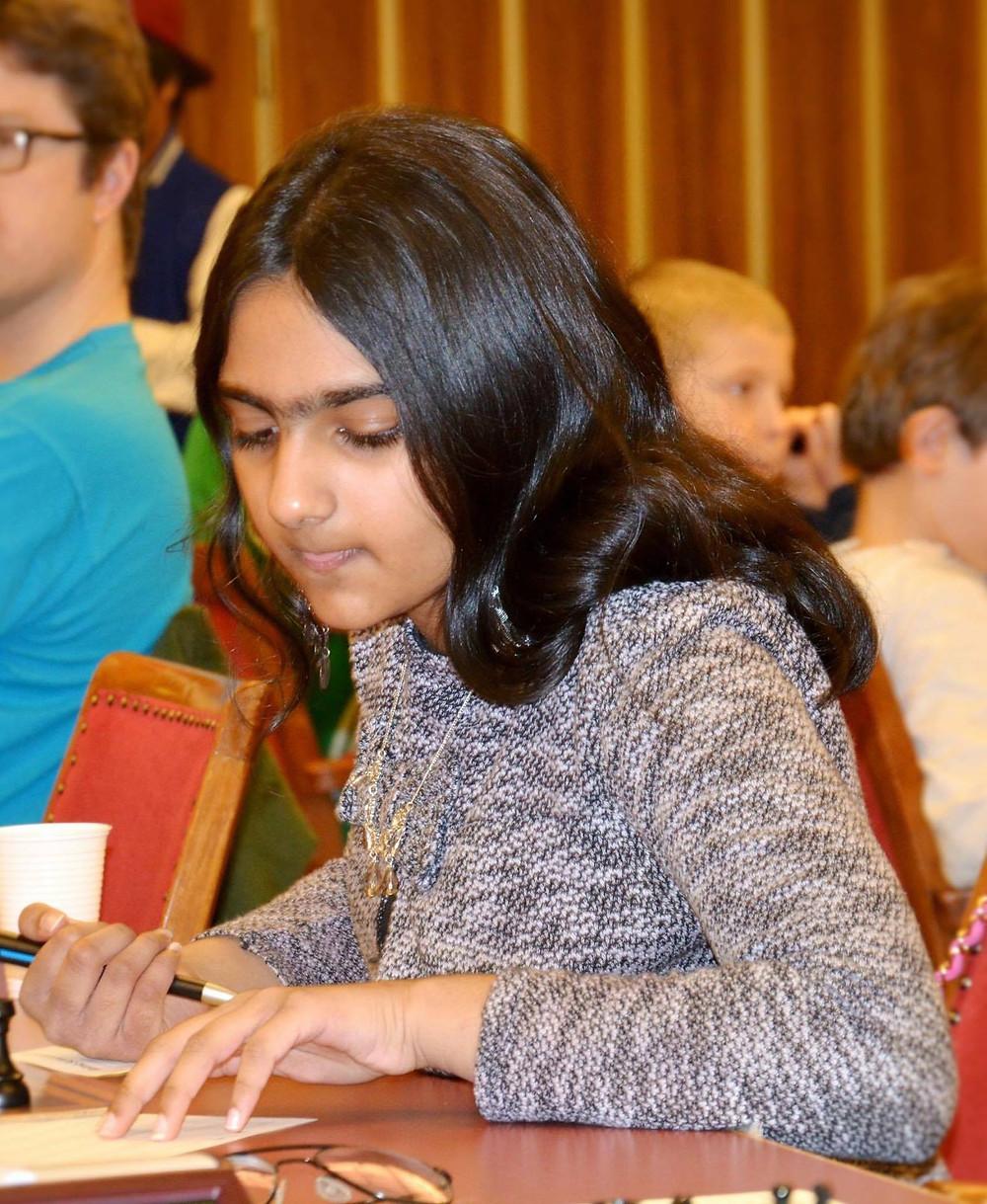Alisha Shehzad tok 4,5 poeng i MSF Open