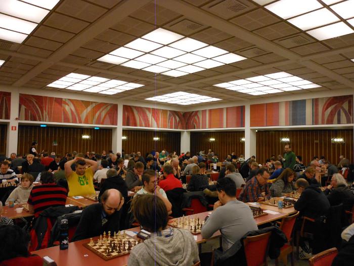 Rådhuset i Malmø fungerer som spillelokale under Malmø Open