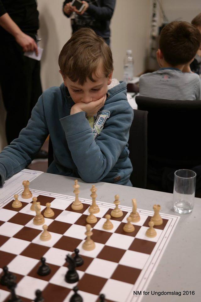 Arne Gilje tok 5 poeng og ble beste fjerdebordsspiller i barneklassen