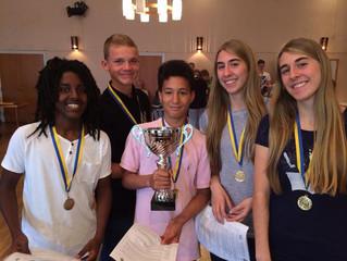 Kannik er nordiske mestre 2014 for ungdomskoler!
