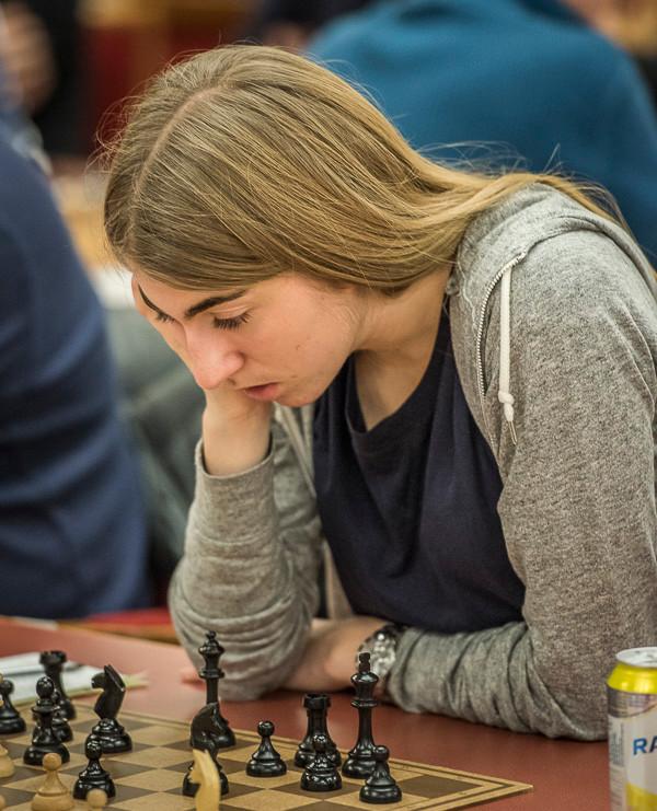 Hanna Bakken Kyrkjebø scoret 4,5 poeng og ble beste spiller fra Stavanger