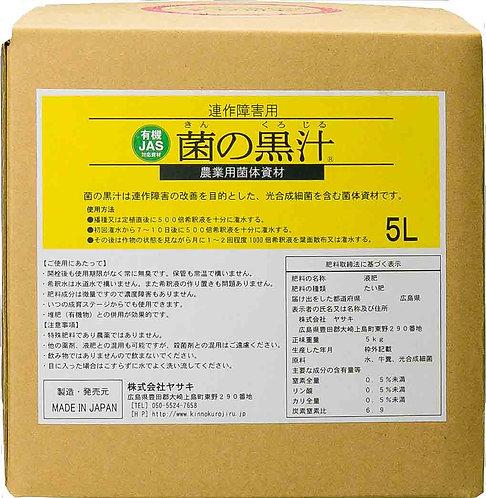 菌の黒汁 5リットル
