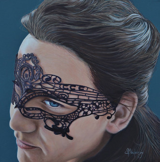 Ioana and the Lace Mask