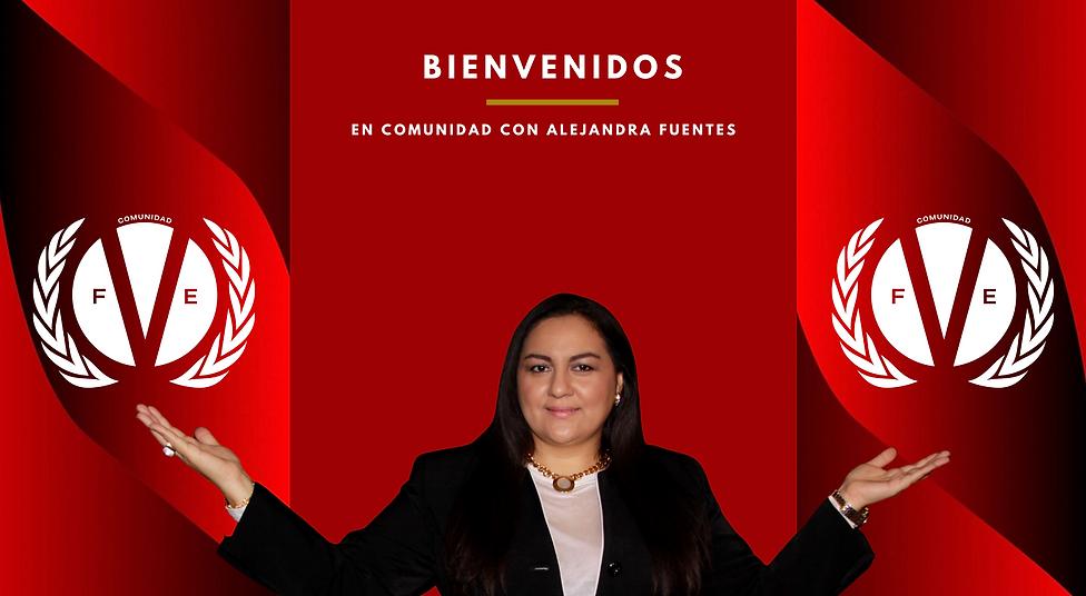 EN COMUNIDAD CON ALEJANDRA FUENTES
