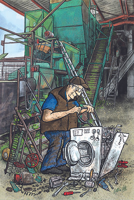 Hop Picking Machine Repairs