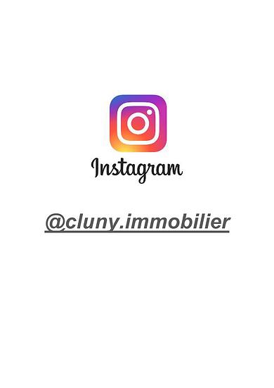 Suivez-nous sur Instagram : @cluny.immobilier