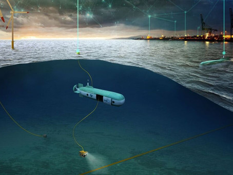 Riding on bubbles, Underwater Mothership for offshore wind, Maersk invests in Electrofuels