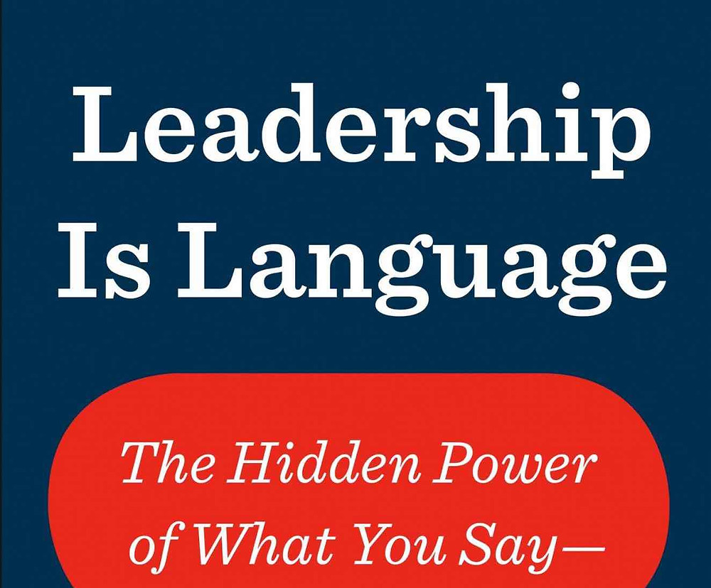 Leadership Is Language book cover
