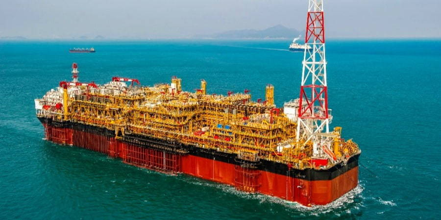 FPSO on the water