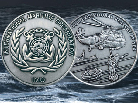 IMO honors acts of bravery, Subsea 7 and OHT renewables combine, real world CO2 scrubber successful