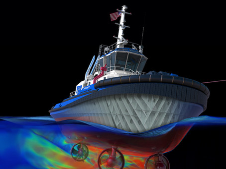 New Mercy ship, first 3D process tug, Cadeler orders huge WTIVs, emissions-free propulsion