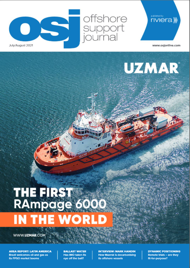 Cover of OSJ July/August 2021 issue