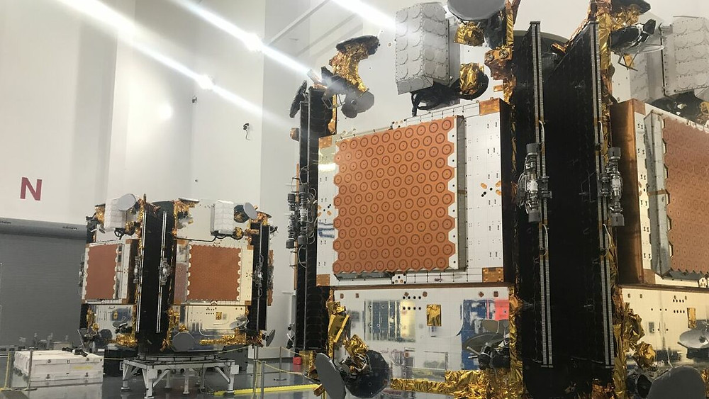 Satellite in production