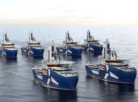 Electric propulsion, Gulf wind potential, Jones Act feeder vessels