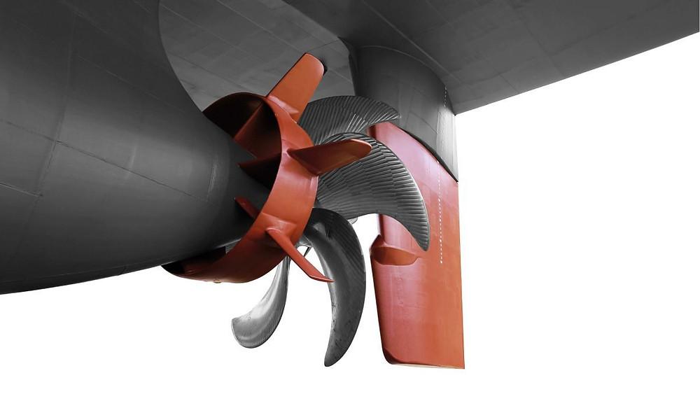 Becker Performance Package propeller and rudder