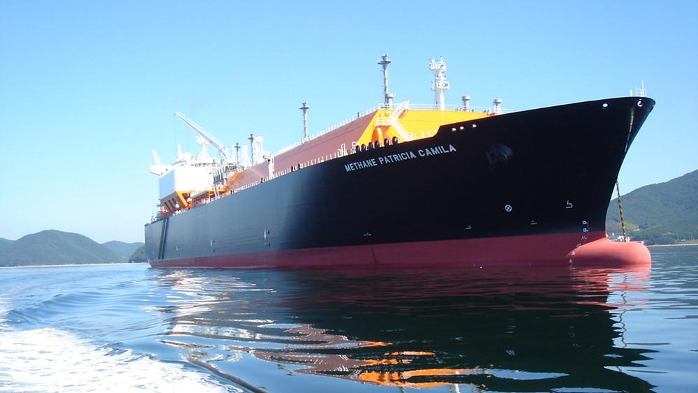 Methane Patricia Camila at port