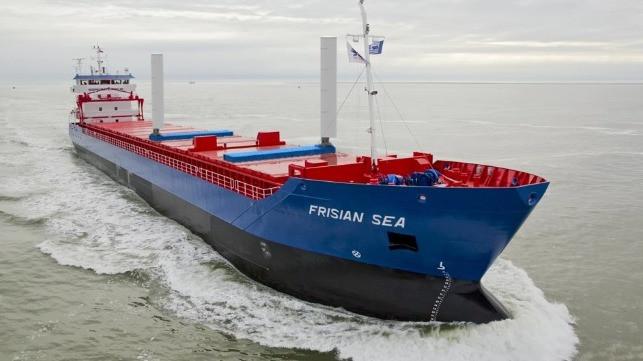 Frisian Sea on the ocean