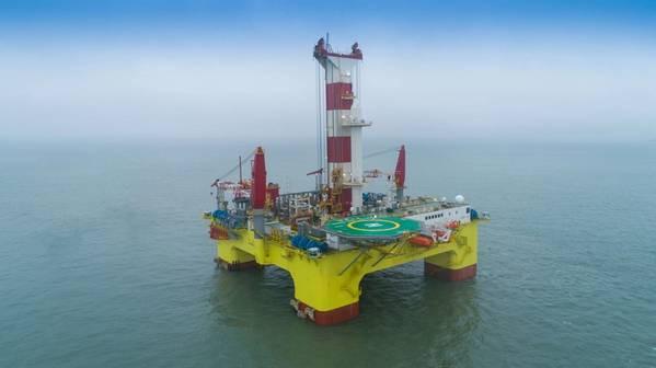 CMHI Shen Lan Tan Shuo Smart Vessel drilling rig
