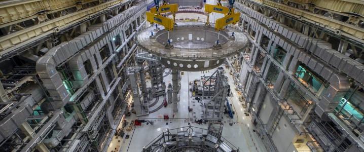 Nuclear Fusion Reactor, ITER tokamak