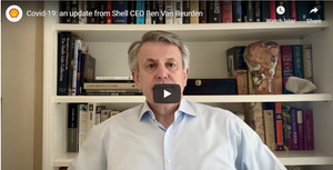 Shell's CEO talks about COVID's impact and Shell