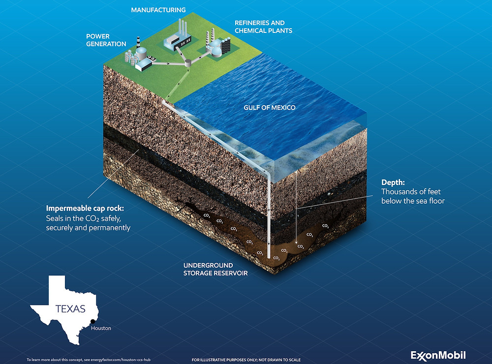 Carbon Capture and Storage design for Gulf of Mexico