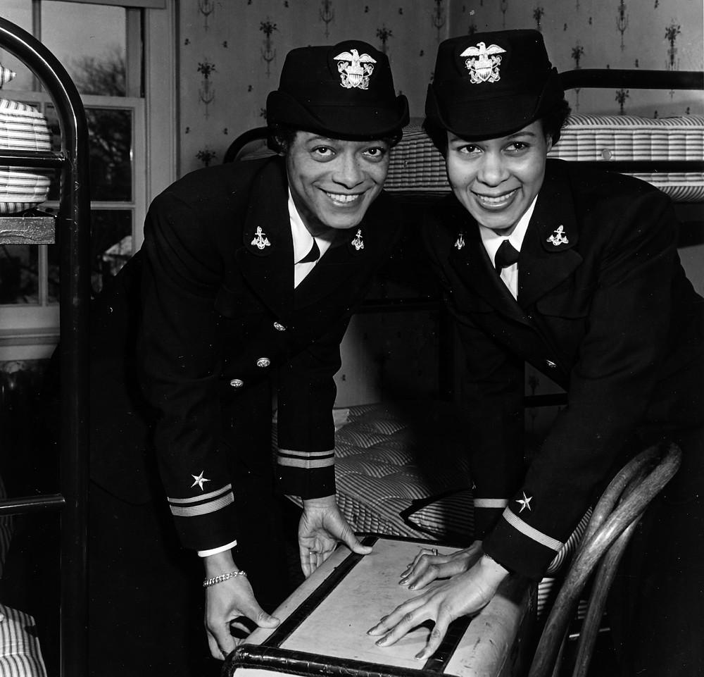 Lieutenant Harriet Ida Pickens and Frances Eliza Wills