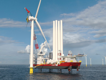 Jones Act vessel, DP control, 3D printed turbine blades