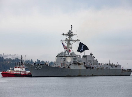 USS Kidd flies Pirate Flag, hydrogen, bp innovation, China pledges carbon neutral by 2060