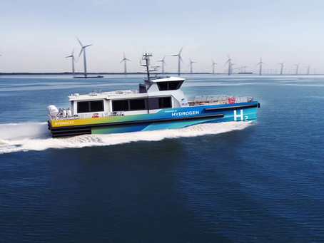 Is hydrogen the next fuel in shipping?