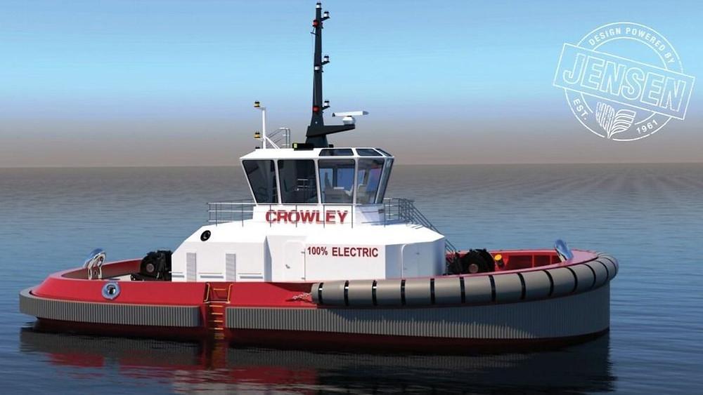 Electric Autonomous tug rendering