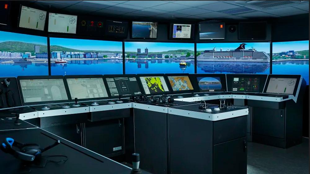 Kongsberg Panama Canal simulator