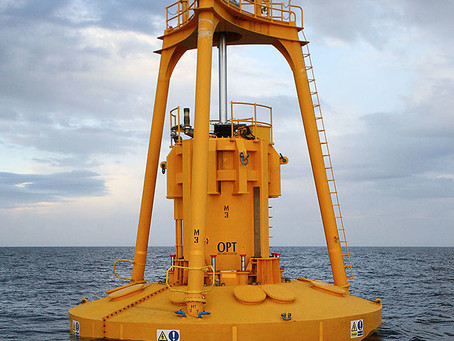 What is wave power?