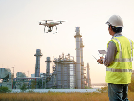 Drones and UAVs: Offshore