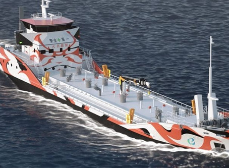 World's largest NGO hospital ship, Autonomous refueling barge, first 100% battery-powered tankers
