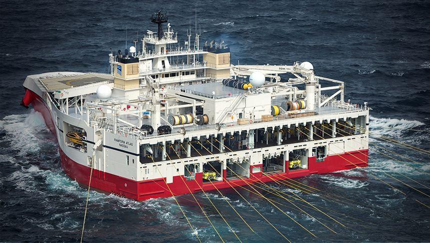 Seismic vessel Ramform Atlas