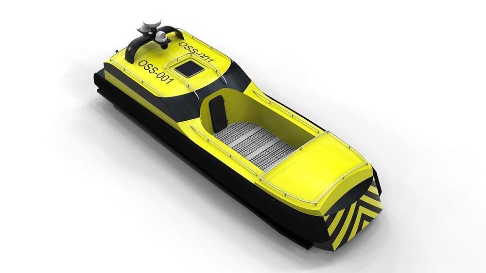 Zelim's rescue craft prototype model
