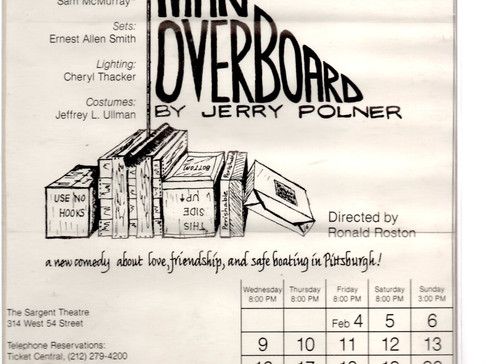 MAN OVERBOARD, High Five Productions, Sargent Theater