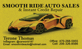 Smooth Ride Auto Sales 2_27_18