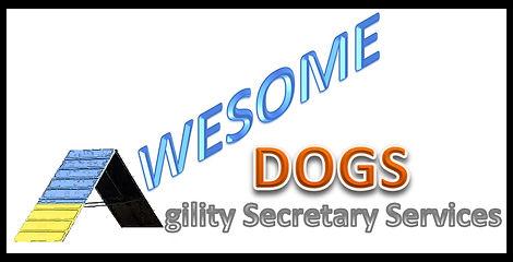 Awesome Dogs Agility Secretary Services logo