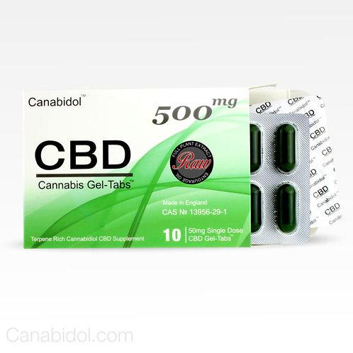 CANABIDOL™ CBD GEL-TABS™ (RAW)