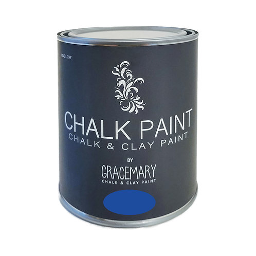 GraceMary Chalk and Clay Paint - Galley Blue