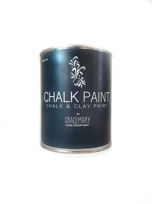 GraceMary Chalk and Clay Paint - Charcoal